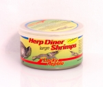 Herp Diner Shrimps gross Garnelen rot